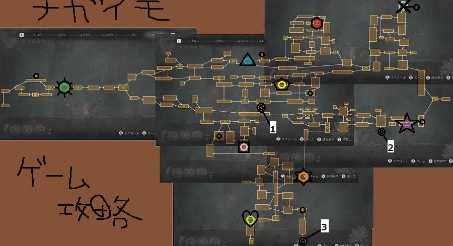 エンダーリリィズ攻略 真エンディングまでの完全クリア用フローチャート画像