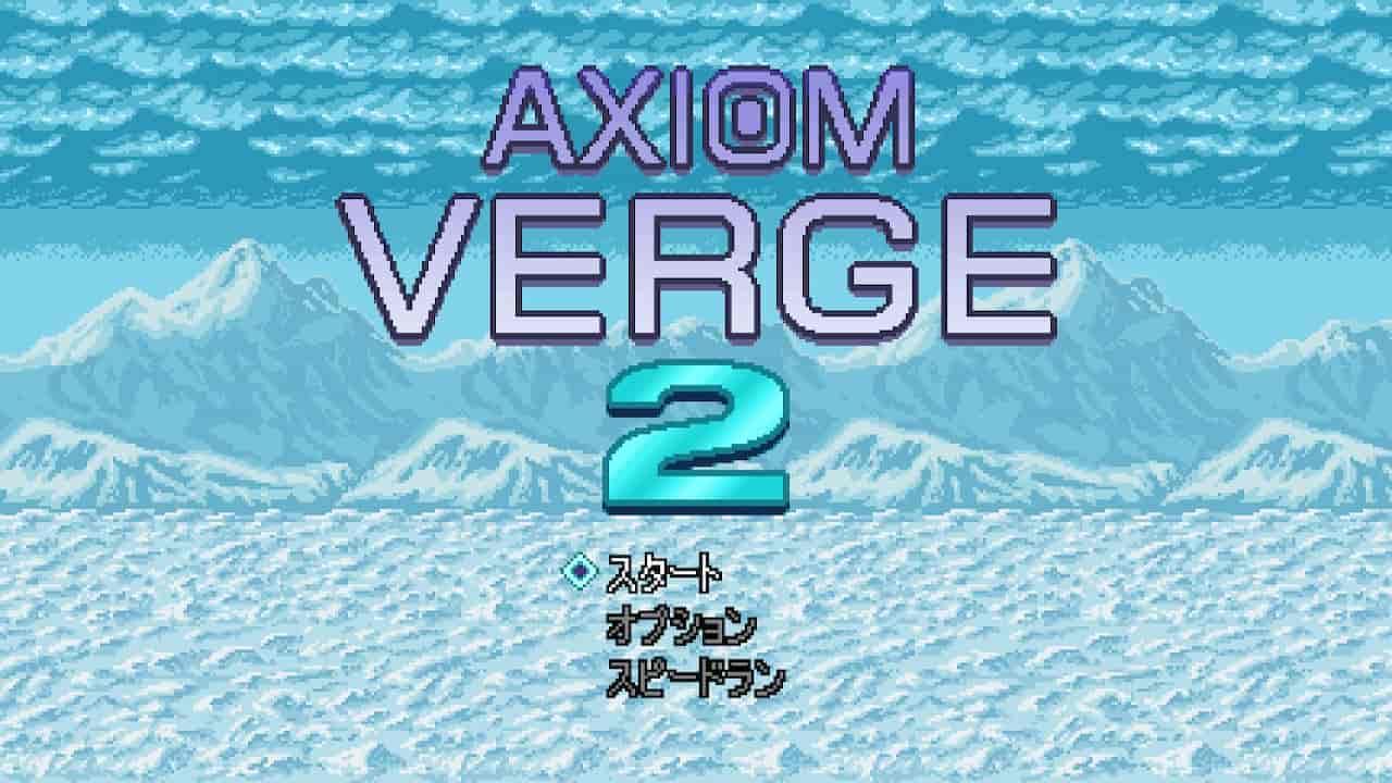 Axiom Verge 2【アクシオムヴァージ2】の攻略wiki マップ付き100%クリア達成方法の画像